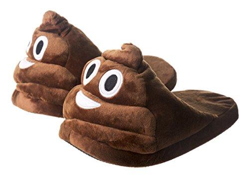 Emoji Poop Slippers
