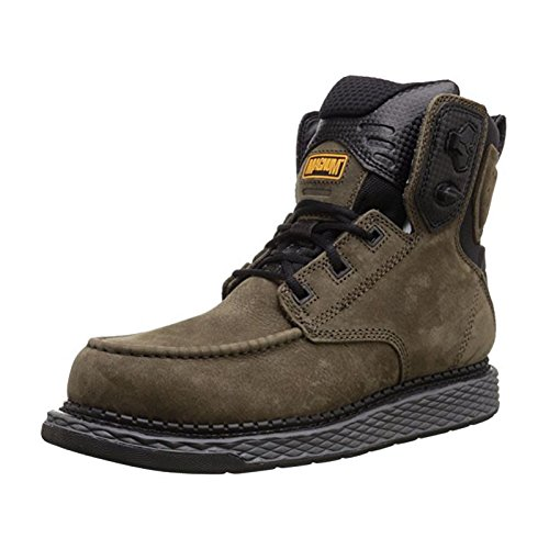 n 6.0 Workboot Work Shoe, Charcoal, 10.5 M US (Magnum Apparel)