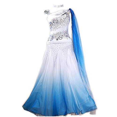 garudaサイズメイドオーダー 高級ドレス 社交ダンス衣装 社交ダンスタンゴドレス 上品ワルツ 競技ワンピース 画面色 サイズオーダー