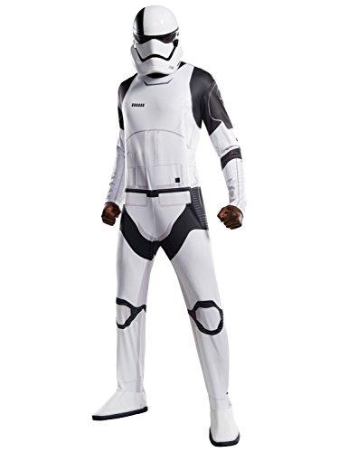 Rubie's Star Wars Episode VIII: The Last Jedi Uni-Sex Executioner Trooper Costume  White/Black  Standard -