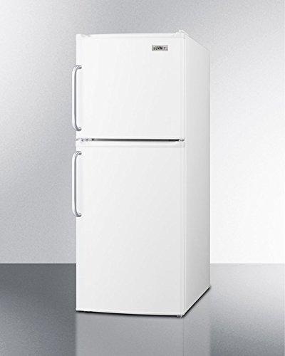 Summit FF71ESTB Energy Star Qualified Two-door Refrigerator-freezer in Ada Compliant 46