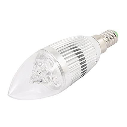 Titular del LED luz de la vela Vivienda Base de Tornillo E14 para los bulbos de
