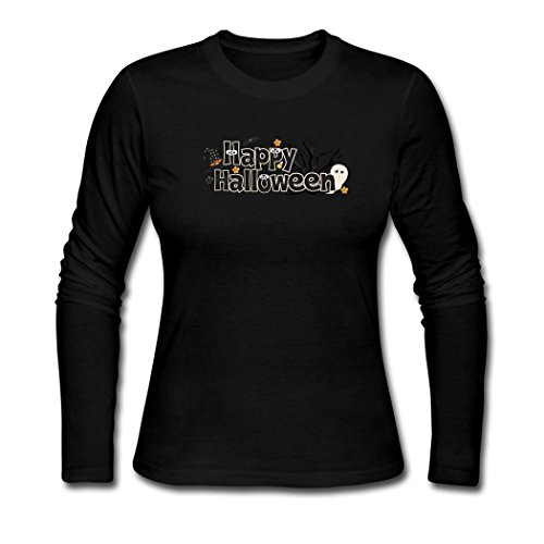 Justk Fashion Happy Halloween Clip Art Women's T-Shirts XX-Large]()
