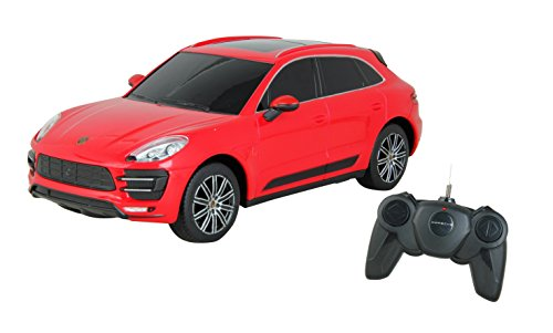Toyhouse Officially Licensed Porche Macan 1:24 Scale Model Car, Red
