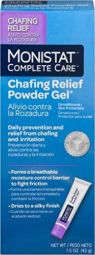 - MONISTAT Chafing Relief Powder Gel 1.5 oz