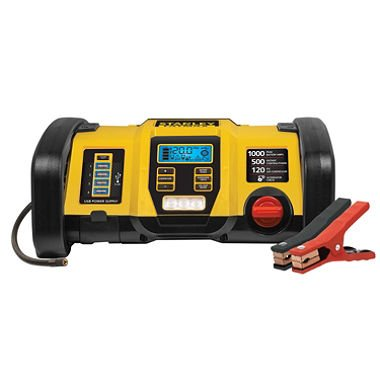 Stanley Fatmax 1000 Peak Amp Power Station - Jump Starter, Air Pressure, Power Up