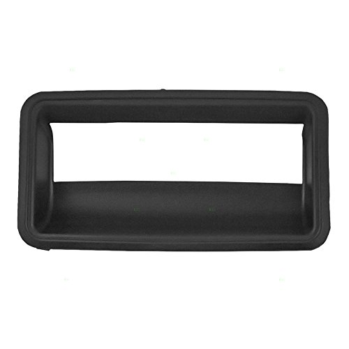 Tailgate Handle Trim Bezel Replacement for Chevrolet GMC Pickup Truck 15991786 -