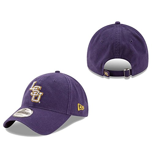 - New Era Men's LSU Tigers Core Classic Classic Purple One Size Fits All