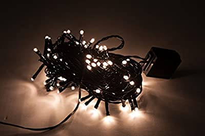 WED LED String Lights, Warm White Decorative Fairy String Lights with 8 Working Modes