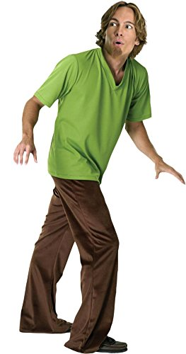 Adult-Costume Shaggy Std Sz Halloween Costume - Most Adults
