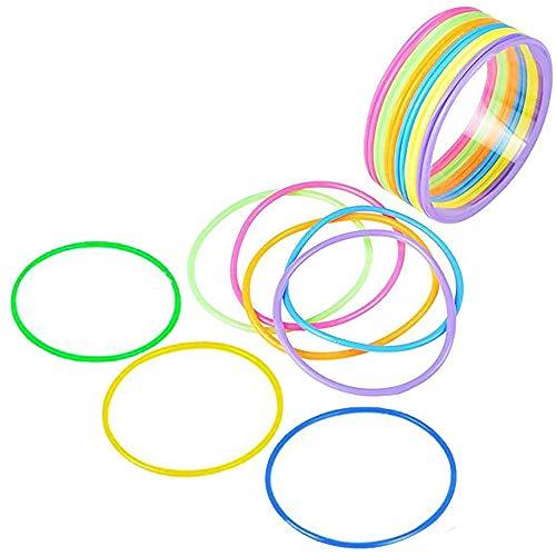 Plastic Bracelets - Assorted Colors - 144 Pieces- 2.75