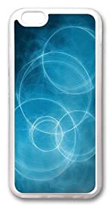 Abstract circles Custom iPhone 6 Case Cover TPU Transparent by Maris's Diary
