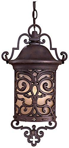 Minka Lavery Outdoor Pendant Lighting 9194-189-PL Chelesa Road Pendants for Patios, 13 Watts Fluorescent, Bronze ()
