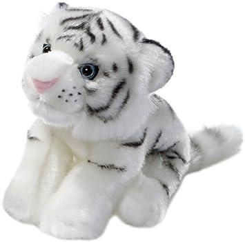 Heunec 244276 Softissimo Classics - Cachorro de tigre blanco de peluche (20 cm)