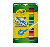 Crayola 150 ct Washable Super Tips Markers 50 Color Variety