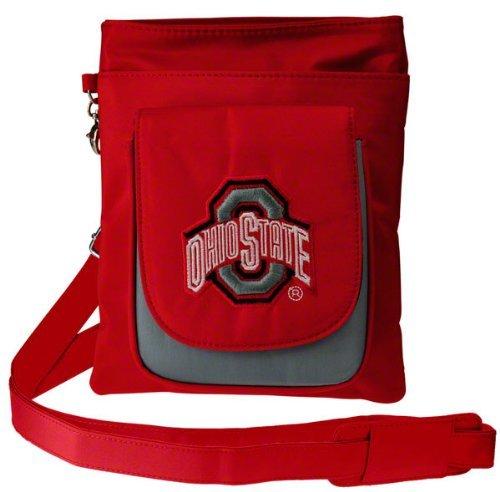 (NCAA Ohio State Buckeyes Crossbody Purse-Handbag-Travel)