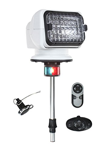 Stanchion Mounted Flood Light - 1