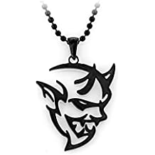 Dodge Demon 316 Stainless Steel Ball Chain Necklace