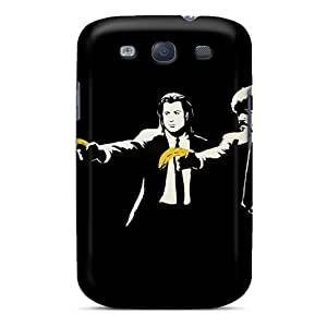 S3 Scratch-proof Protection Case Cover For Galaxy/ Hot Banksy Pulp Fiction Phone Case