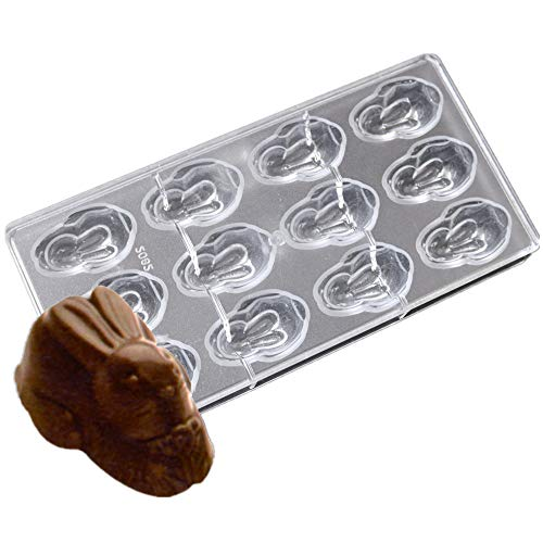 LoBake 12 cavities High food grade durable rabbit Bunny, used for sale  Delivered anywhere in USA