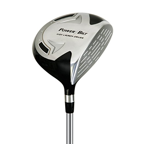 Junior Driver - PowerBilt Boy's Ages 9-12 Golf Driver, Right Hand, Silver