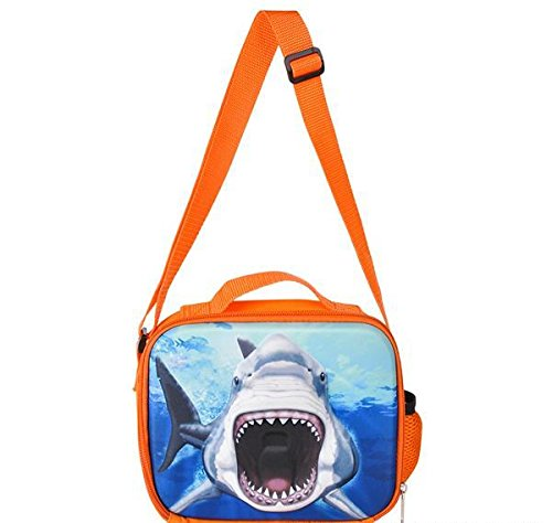 8'' 3D FOAM SHARK LUNCH PACK, Case of 24