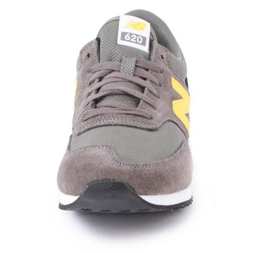 new balance grises y amarillas