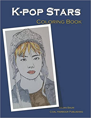 Amazon K Pop Stars Coloring Book 9781989043011 Julian Baum Books