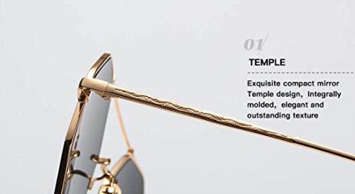 Femmes Nouvelles Lunettes De Soleil Dames Mode Lunettes Mâle Individualité Lunettes Couple Tir De La Rue Lunettes De Soleil,D E