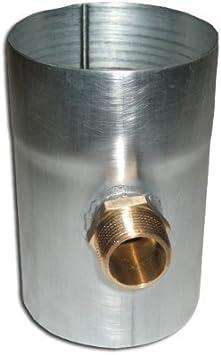 """Hochwertige Verschlußkappe 1/"""" für Regenwassersammler"""
