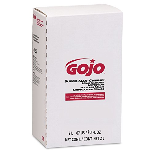 GOJO 2000 ml Refill SUPRO MAX Cherry Scented Hand Cleaner. (4 Each) by Gojo (Image #3)