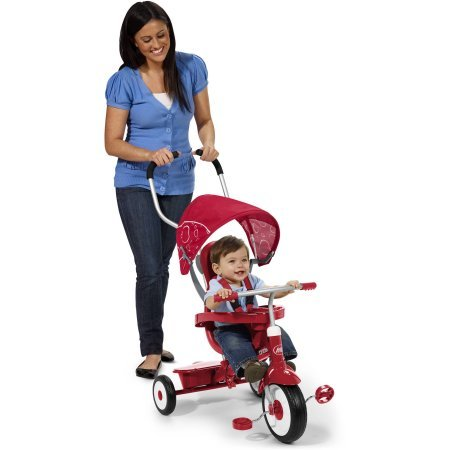 Radio Flyer 4-in-1 Trike, Red /Model:811