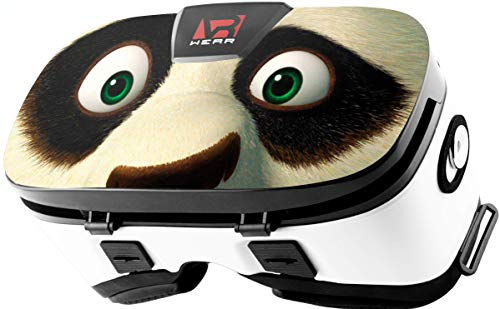 Virtual Reality Headset, Goggles Gear, Google – 3D VR Glasses by VR WEAR VR 3D Box for Any Phone (iPhone 6/7/8/Plus/X & S6/S7/S8/S9/Plus/Note and All Android Smartphone) with 4.5-6.5″ Screen (Panda)