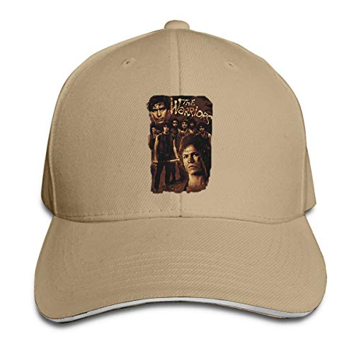 GMSFF The Warriors NYC Gang Thriller Action Movie 9 Warriors Classic Casual Baseball Cap with Adjustable Strap Cap Natural -