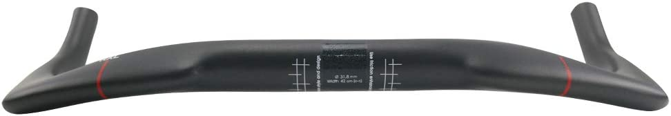 RXL SL Guidon Triathlon 31.8mm Gris 3K Mat//Brillant prolongateur Carbon