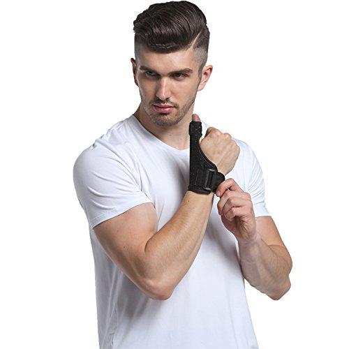 Thumb Splint Kitchenhoney Breathable Finger Spica Wrist Support Brace for De Quervains Tenosynovitis, Arthritis, Tendonitis, Trigger Thumb Immobilizer Fits Men Women Left and Right Hand by kitchenhoney