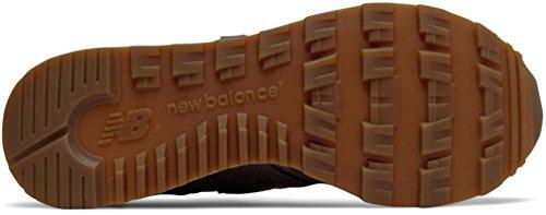 Nuovo Equilibrio Femminile Made In The Wl1400cv1 Scarpe Classiche Verde / Marrone