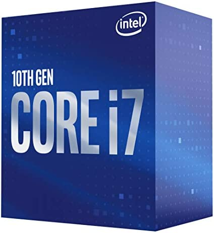 Intel Core i7-10700 Desktop Processor 8 Cores as much as 4.8 GHz LGA 1200 (Intel 400 Series Chipset) 65W, BX8070110700