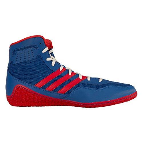 Scarpe Adidas Mat Wizard 3 Wrestling Royal / Rosso / Bianco
