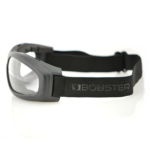 Bobster Touring 2 Goggles,Black Frame/Clear Lens,one size by Bobster (Image #2)