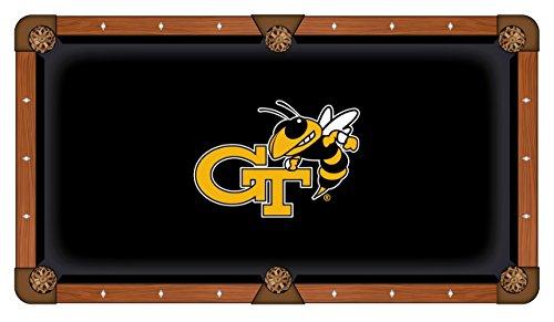 NCAA 7ft Pool Table Cloth by Holland Bar Stool - Georgia Tech