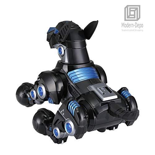 Modern-Depo Rastar Intelligent Robot Dog with Remote Control for Kids, USB Charging, Dancing Demo - Black by Modern-Depo (Image #5)