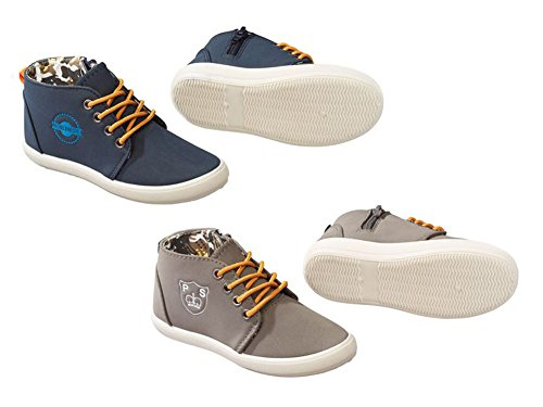 Kleinkinder Jungen Sneaker Farbe. GRAU Gr.28