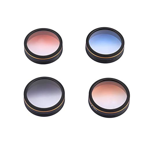 Wikiwand Lens Filters for Phantom 4 PRO Filter Kit Y & C Drone Quadcopter Accessories by Wikiwand (Image #1)