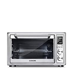 COSORI CO130-AO Air Fryer Toaster Oven, ...