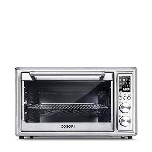 COSORI CO130-AO Air Fryer Toaster Oven, 30L, Silver