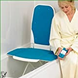 Sonaris Bathmaster Blue Bath Lift with Covers by Patterson Medical