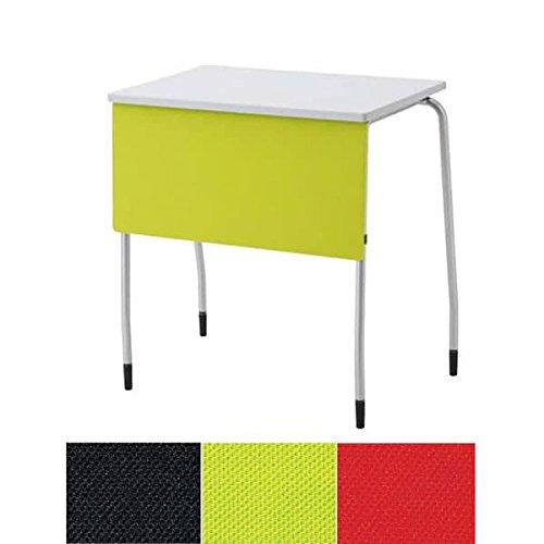 生興 テーブル TT型スタックテーブル W730×D445×H700 天板固定式 垂直スタック式 幕板付 固定脚 TT-14MF ブラック B015XOJ61G ブラック ブラック