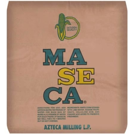 Maseca Golden Quality Azteca Milling Corn Flour,50 Pound by Maseca Golden Quality (Image #1)