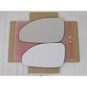 Replacement Mirror Glass with FULL SIZE ADHESIVE for 2006-2011 BUICK LUCERNE Driver Side View Left LH MORE THAN ONE OPTION AVAILABLE CHECK SIZE
